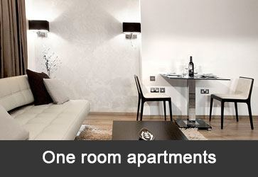 One room apartments Belgraderenting