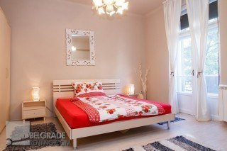 Master bedroom  -  Apartment Heart of Belgrade