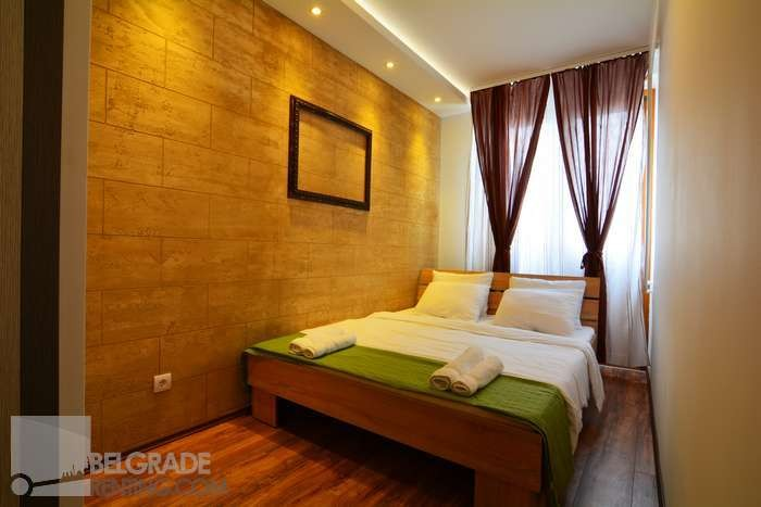 Bedroom double bed - Apartment Central Square Grand