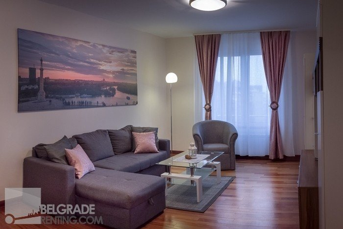 Living room - Apartment Executive Belgrade