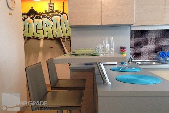 Dinig area - Apartment  Brace Jugovica Belgrade