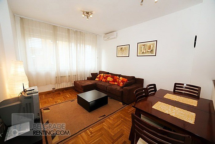 Living room and dining room  - Apartment Vuk Belgrade